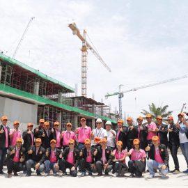 CM-SUT รุ่น 14  ศึกษาดูงาน สถานที่ก่อสร้างโครงการ เทอมินอล 21 (พัทยาเหนือ) จังหวัดชลบุรี