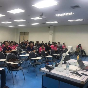ภาพบรรยากาศการเรียนในรายวิชา 554629 PAVEMENT AND BRIDGE INFRASTRUCTURE MANAGEMENT SYSTEMS